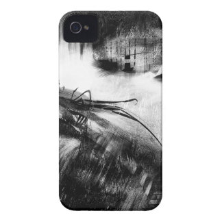 Black and White Style 2 iPhone 4 Cover