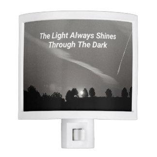 Black And White Sunrise Light Quote Night Lights