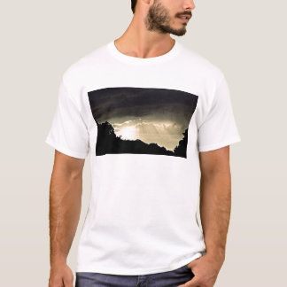 Black and White Sunset T-Shirt