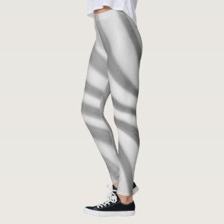 Black and White Swirl - Leggings