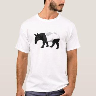 Black and White Tapir T-Shirt