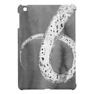 Black and White Tentacle iPad Mini Cover