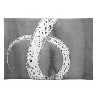 Black and White Tentacle Placemat