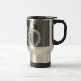 Black and White Tentacle Travel Mug