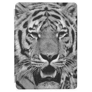 Black and White Tiger Face iPad Air Cover
