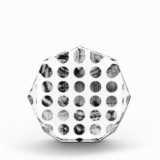 Black and White Tiger Polka Dots pattern