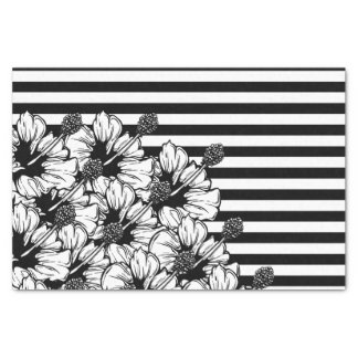 Black And White Tissue Paper