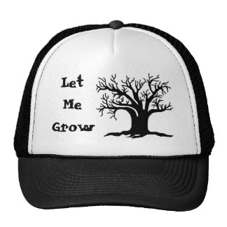 Black and White Tree Hats