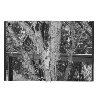 Black and White Tree Nature Photo iPad Case