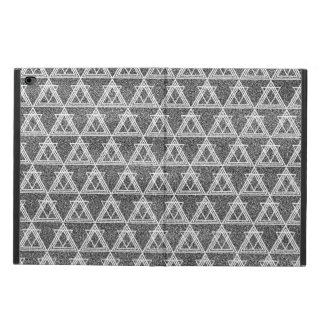 Black and White Triangle Geometric Pattern Powis iPad Air 2 Case