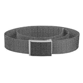 Black and White Tribal Pattern Belt