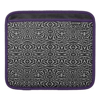 Black and White Tribal Pattern iPad Sleeve