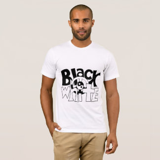 Black and White United T-Shirt