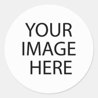 black and white wall round sticker