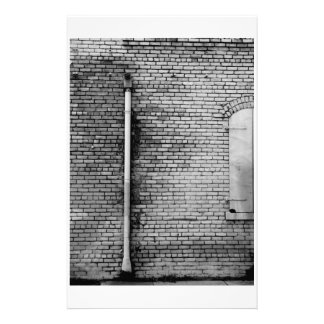 Black and White Wall Stationery