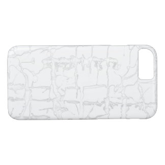 Black and white, water texture design, marbling iPhone 8/7 case
