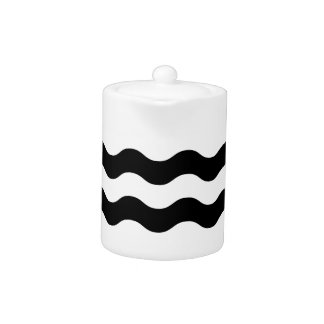 Black and white waves 50s edition