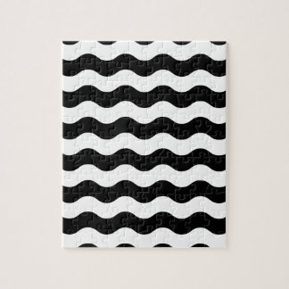 Black and white waves 50s edition puzzles