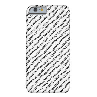 Black and White Wavy Pattern, iPhone 6/6s Case