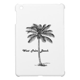 Black and white West Palm Beach & Palm design iPad Mini Case