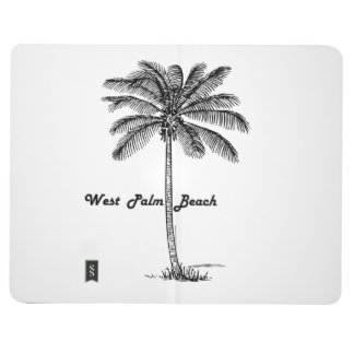Black and white West Palm Beach & Palm design Journal