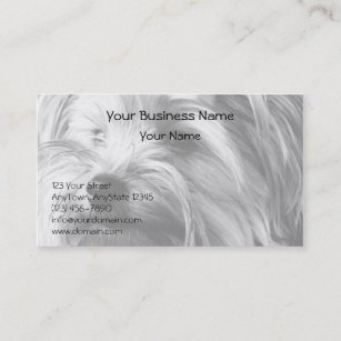 Yorkshire terrier business cards business card printing zazzle ca black and white yorkshire terrier yorkie portrait business card reheart Choice Image