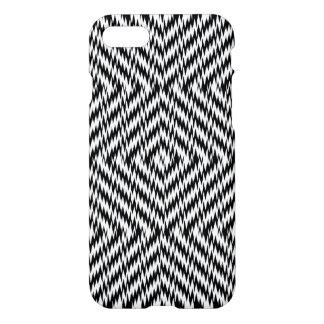 Black and White Zig Zag iPhone 8/7 Case