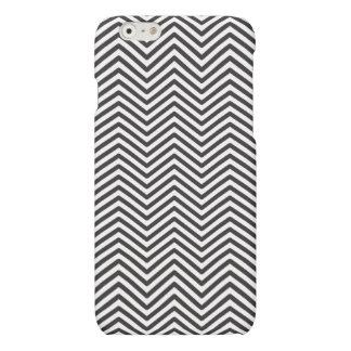 Black and White Zigzag iPhone 6/6s Matte Case