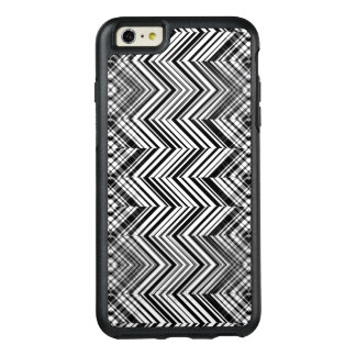 Black and White Zigzag Otterbox Case for iPhone 6
