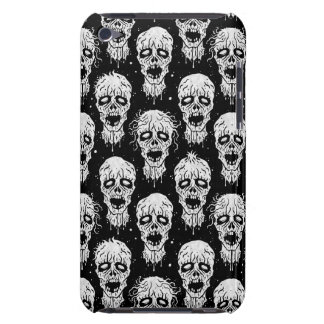 Black and White Zombie Apocalypse Pattern iPod Touch Cases