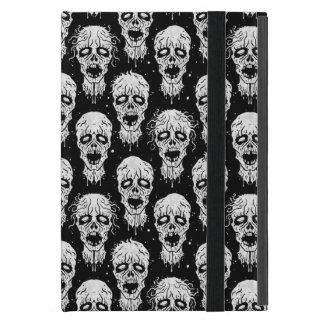 Black and White Zombie Apocalypse Pattern Cover For iPad Mini
