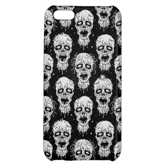 Black and White Zombie Apocalypse Pattern iPhone 5C Cover