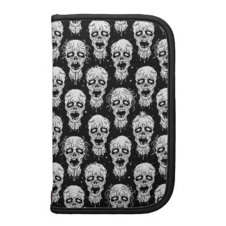 Black and White Zombie Apocalypse Pattern Folio Planners