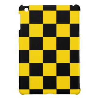Black And Yellow Checkered iPad Mini Glossy Case iPad Mini Case
