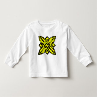 Black and Yellow Floral T Shirts