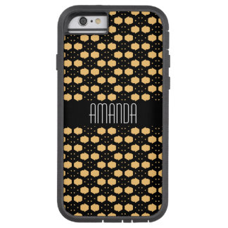 Black and Yellow Honeycomb inspired Tough Xtreme iPhone 6 Case
