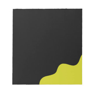 Black and yellow notepads