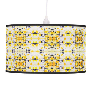 Black and Yellow Pendant light Pendant Lamp