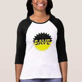 Black and Yellow Save Tee Shirts
