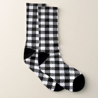 Black and Your Color Buffalo Plaid 1