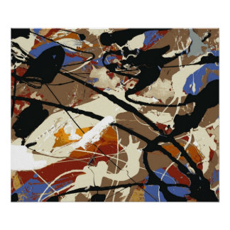 Black Angel- Expressionist Fine Art Poster- Print