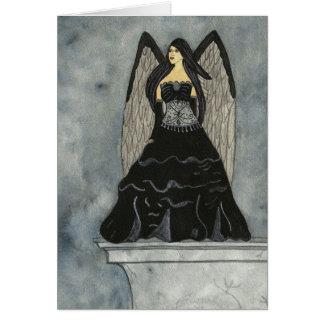 Black Angel Notecard