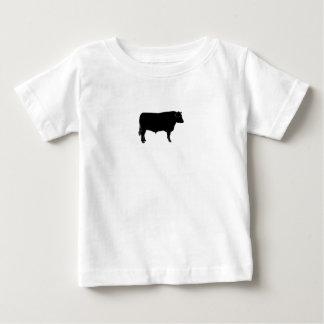 Black Angus Bull Baby T-Shirt