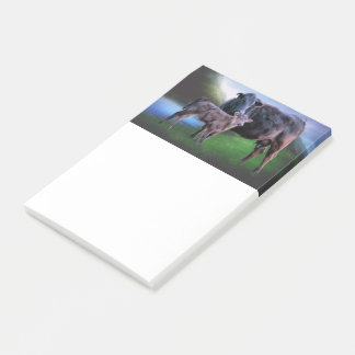Black Angus Cow and Calf Post-it Notes