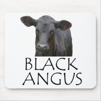 Black Angus Mouse Pad