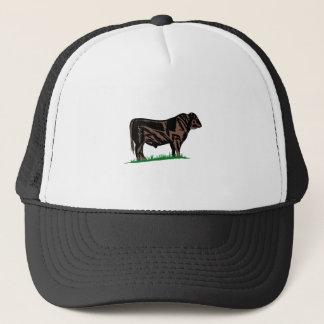 Black Angus Steer Trucker Hat