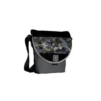 black armor Lyons becomes bald lambo iphone Commuter Bag