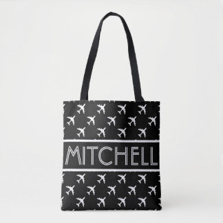 Black Arrow BOF Personalized Tote Bag