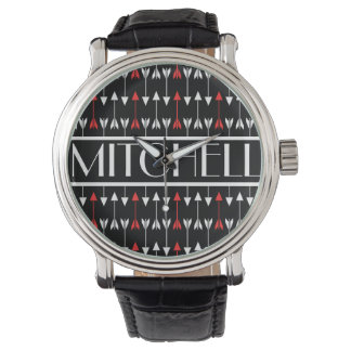 Black Arrow Personalized Watch