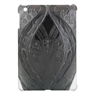 Black Art Deco Glass Lizard Vase Cover For The iPad Mini